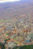 Bogota. Skyline of the north part of bogota the capital of colombia stock photography