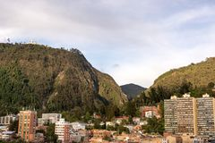 Bogota and the Andes Mountains Stock Photos
