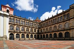 Bogota capital of Colombia royalty free stock photos