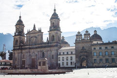 Bogota Cathedral Stock Images