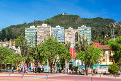 Bogota City View Royalty Free Stock Photography