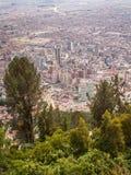 Bogota City View Portrait Royalty Free Stock Image