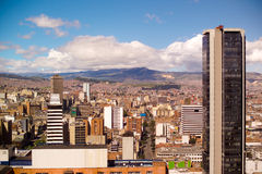 Bogota, Colombia. Downtown Bogota, Colombia, South America royalty free stock photography