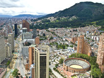 Bogota, Colombia. Panoramic view of Bogota, Colombia Stock Photos
