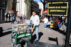 Bogota Colombia Royaltyfri Fotografi