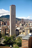 Bogota, Colombia. Panoramic view of Bogota, Colombia royalty free stock photography