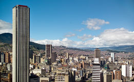 Bogota, Colombia. Panoramic view of Bogota, Colombia stock photography
