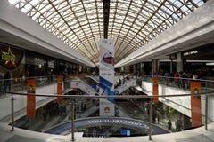 Bogota, Colombia, Centro Comercial Gran Estacion, Shopping Center Mall. Centro Comercial Gran Estacion, Shopping Center Mall, people are shopping and dining royalty free stock photo