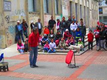 Bogota, Colombia Street. Dog Show Stock Images