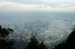 Bad Weather in Bogota Royalty Free Stock Image