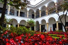 Bogota Colombie ; 24 de Julio de 2017 : ¡ d'en Bogotà de dentro del museo de Fernando Botero, Colombie images libres de droits