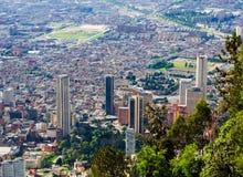 Bogota de stad in Stock Foto