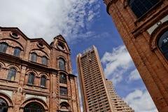 Bogota en construction Photos libres de droits
