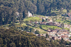 Bogota Hills Colombia Royalty Free Stock Photos
