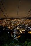 Bogota Kolumbia światła Obrazy Royalty Free