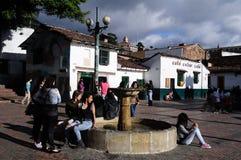 Bogota - La Candelaria Royalty Free Stock Photo