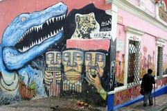 Bogota - La Candelaria Stockbild