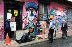 Bogota - La Candelaria Royalty Free Stock Photography