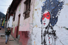 Bogota - La Candelaria Royalty Free Stock Photos