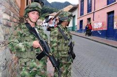 Bogota - La Candelaria Stock Image