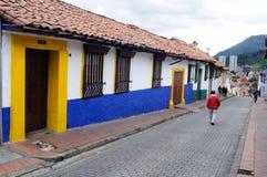Bogota - La Candelaria Photo libre de droits