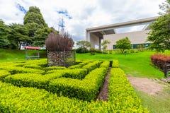 Bogota park kochanka mały labitynt miłość fotografia royalty free