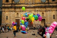 Bogota Plaza Activity Stock Images