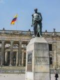 bogota som buidling den colombia kongressen Arkivbild