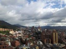 Bogota stad fotografering för bildbyråer