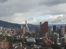 Bogota stad arkivbilder