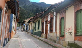 Bogota street scene Colombia Royalty Free Stock Photo