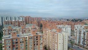 Bogota une ville orange de brique Image stock