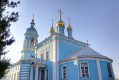 Bogoyavlenskaya Chirch in Gonchary. Royalty Free Stock Photography