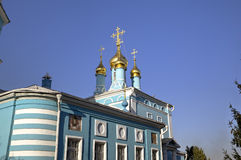 Bogoyavlenskaya Chirch in Gonchary. Stock Images