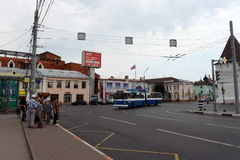 Bogoyavlenskaya kwadrat, Yaroslavl Obraz Royalty Free