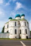 Bogoyavlenskii domkyrka av den Uglich staden Royaltyfri Bild