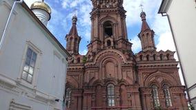 Bogoyavlensky objawienia pańskiego Katedralna dzwonnica w Kazan - zdjęcie wideo