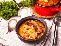 Bogracs goulash Stock Photos
