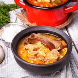 Bogracs goulash Royalty Free Stock Images