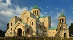 Kutaisi, Bograti cathedral Georgia Royalty Free Stock Photography