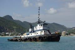 bogserbåt royaltyfri bild