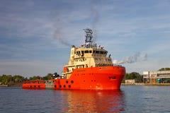 bogserbåt för havsprov Royaltyfri Fotografi