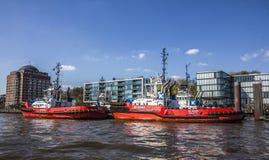 bogserbåtar Royaltyfri Bild