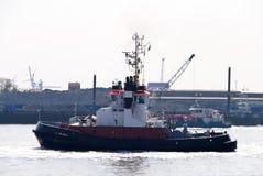 Bogserbåtfartyg Arkivfoto