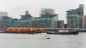Bogserbåt för förlorad ledning Fotografering för Bildbyråer