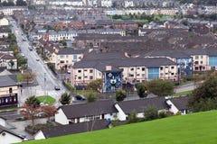 Bogside, Лондондерри Стоковые Изображения