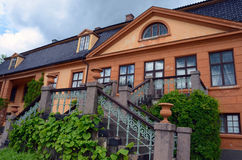 Bogstad Manor in Oslo. Bogstad Manor (Norwegian: Bogstad Gård) is a listed and protected cultural monument and one of the few country estates in Norway. It Royalty Free Stock Photography