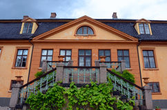 Bogstad Manor in Oslo. Bogstad Manor (Norwegian: Bogstad Gård) is a listed and protected cultural monument and one of the few country estates in Norway. It Royalty Free Stock Images