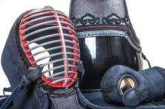 Bogu ` προστατευτικού εξοπλισμού ` για την ιαπωνική κατάρτιση περίφραξης Kendo Στοκ Εικόνα