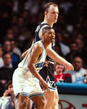 Bogues de Mugsy contre Scott Skiles image stock
